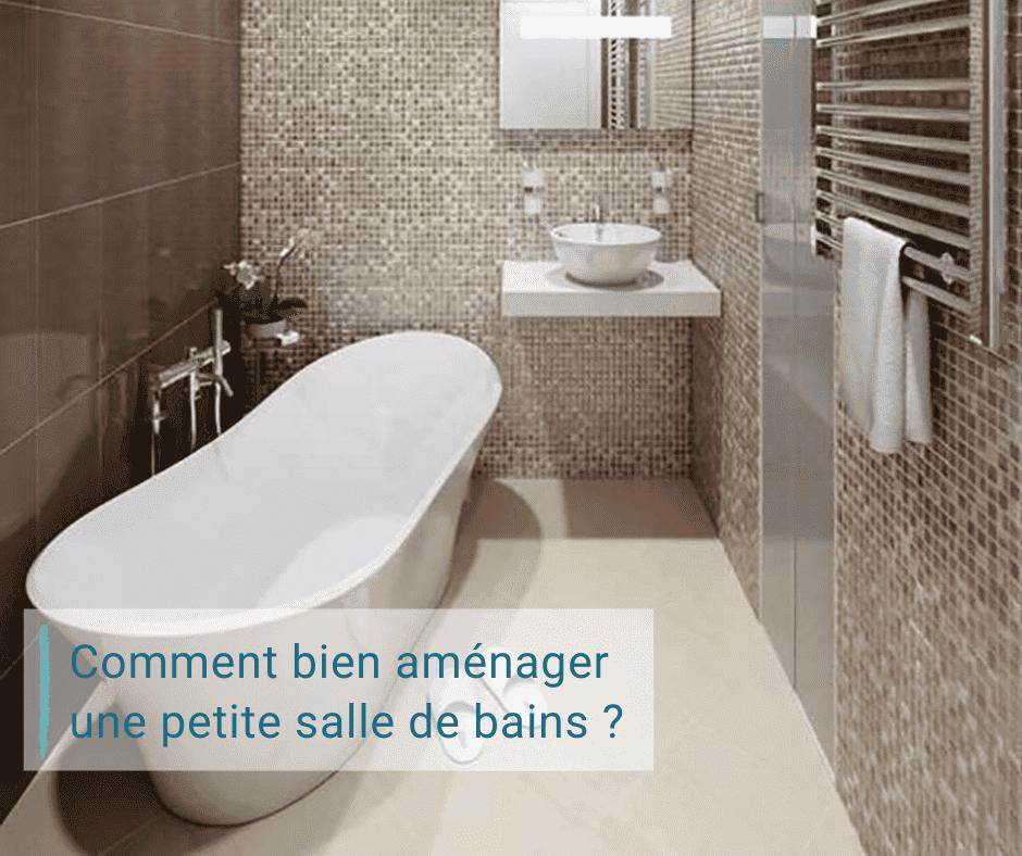 Aménager petite salle de bains