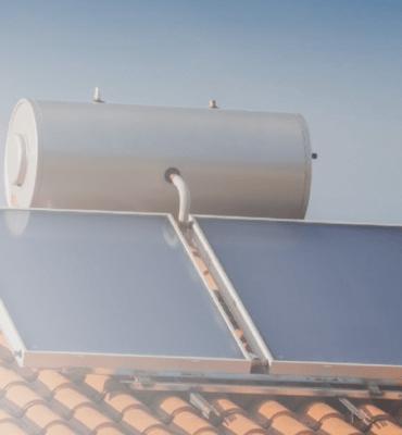 chauffe eau solaire sur toit