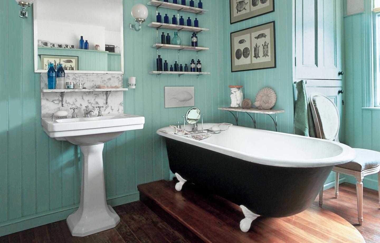 5 idées pour une salle de bain rétro