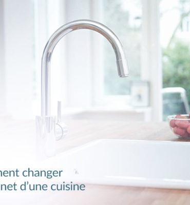 robinet et évier de cuisine