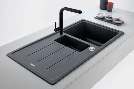 Kitchen sink Franke Noir