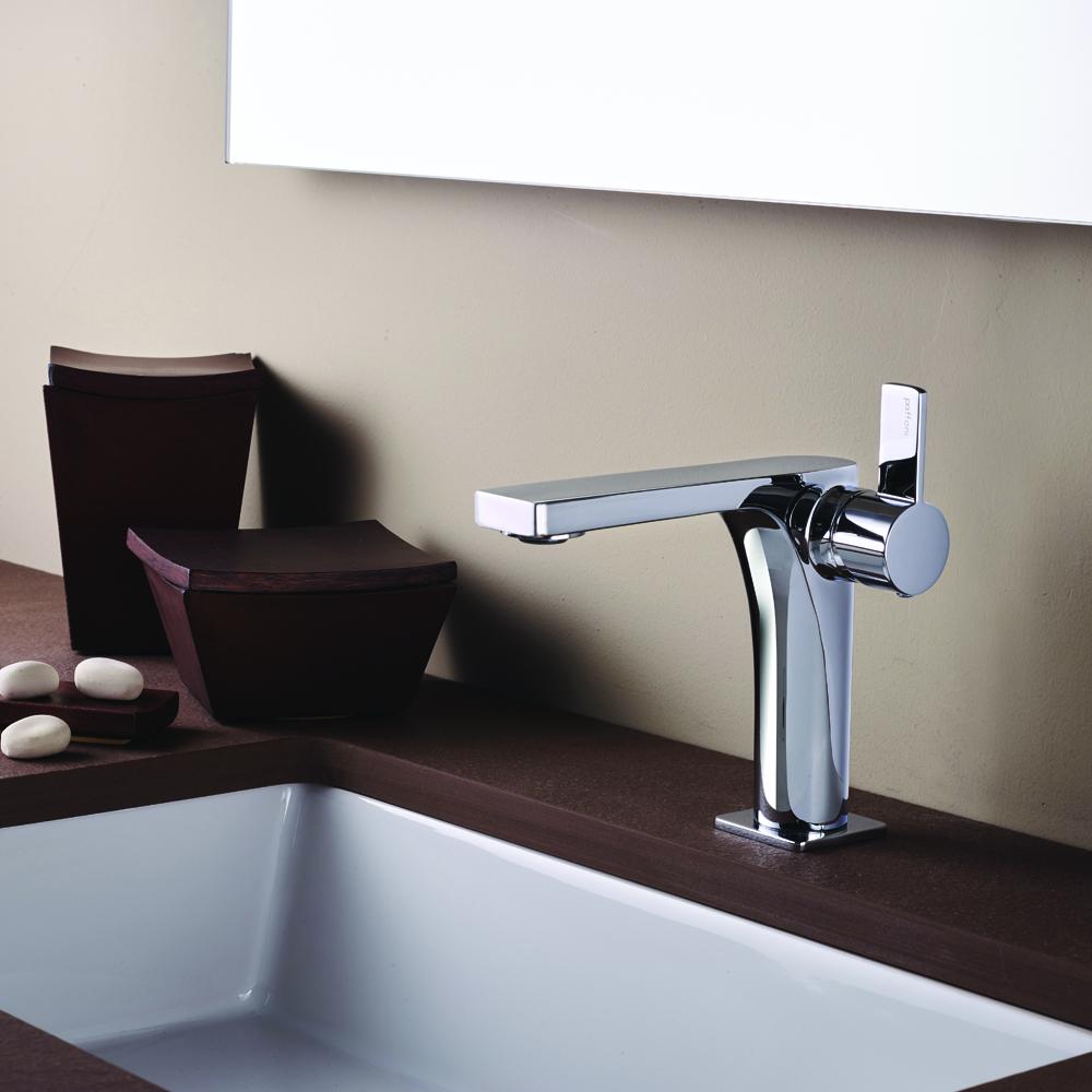 robinet sur meuble