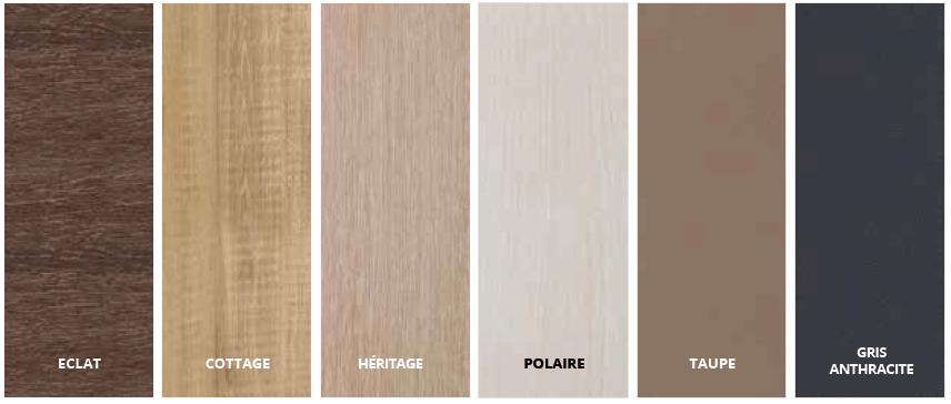 palette de couleurs de tons marron