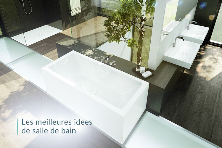 meilleures idées de salle de bain