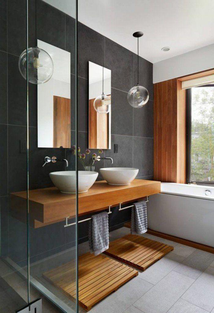 salle de bain inspiration bois