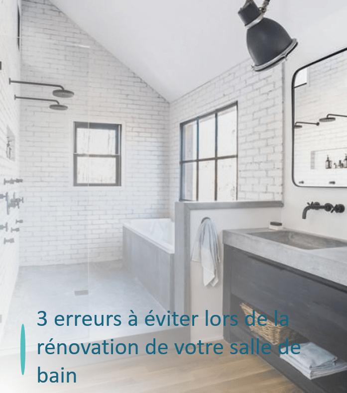 salle de bain pierre noir et blanche