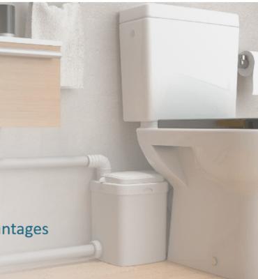 photo sanibroyeur avec toilette