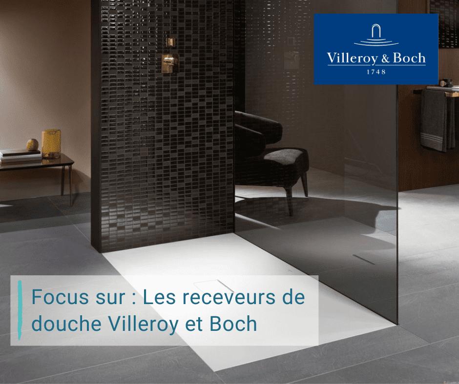 Receveur de douche Villeroy et Boch