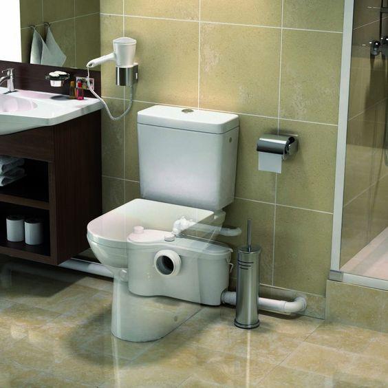 sanibroyeur et toilettes