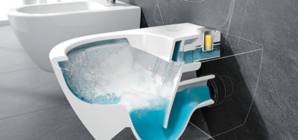 innovation villeroy de toilettes