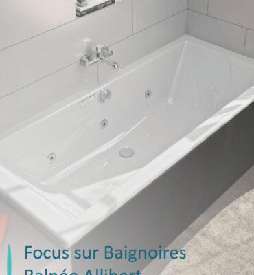baignoire balneo allibert avec titre