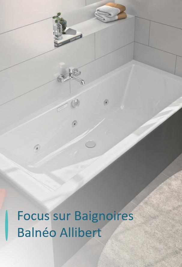 baignoires balneo allibert