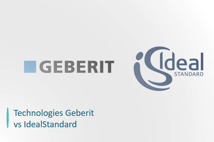 geberit vs idealstandard