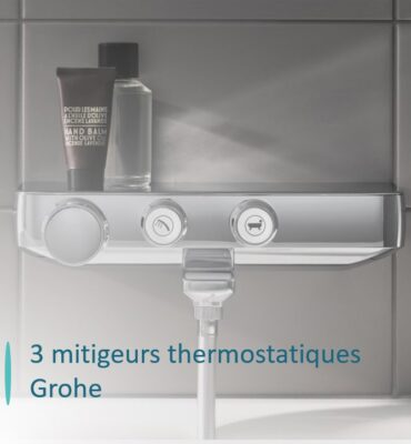 mitigeur douche grohe