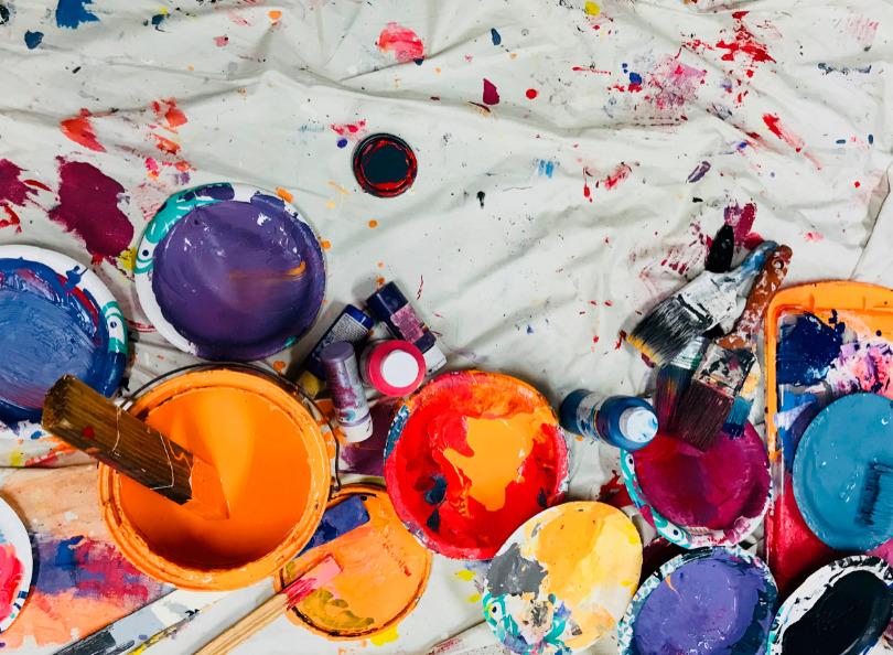 choix de couleurs de peinture