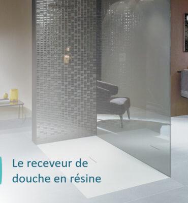 receveur de douche en résine