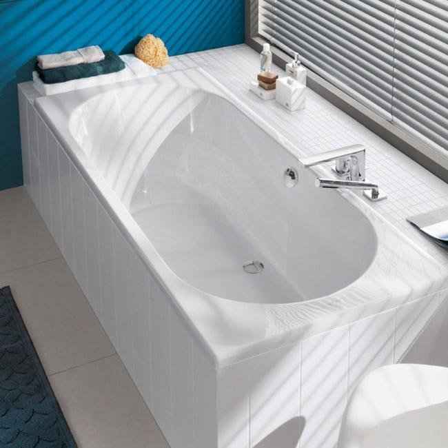 baignoire traditionnelle Villeroy et Boch