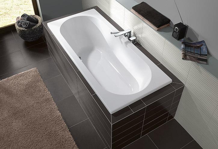 baignoire rectangulaire série O.Novo Villeroy et Boch