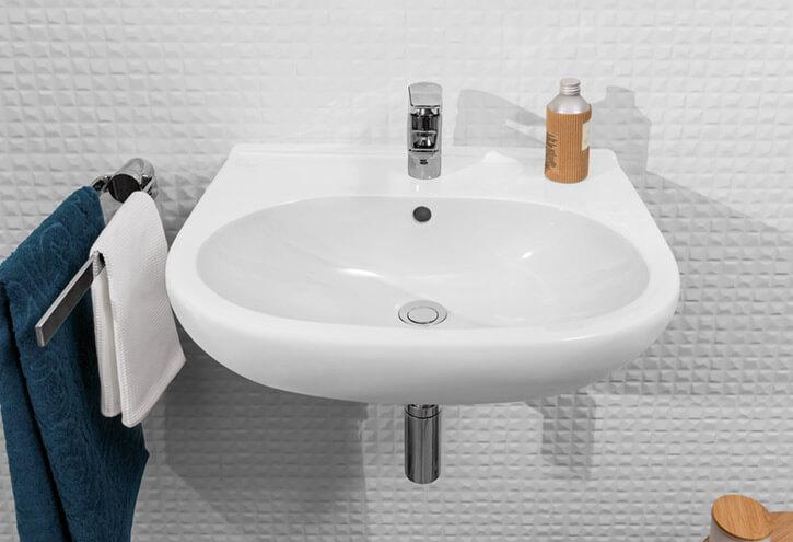lavabo fixé au mur série O.Novo Villeroy et Boch