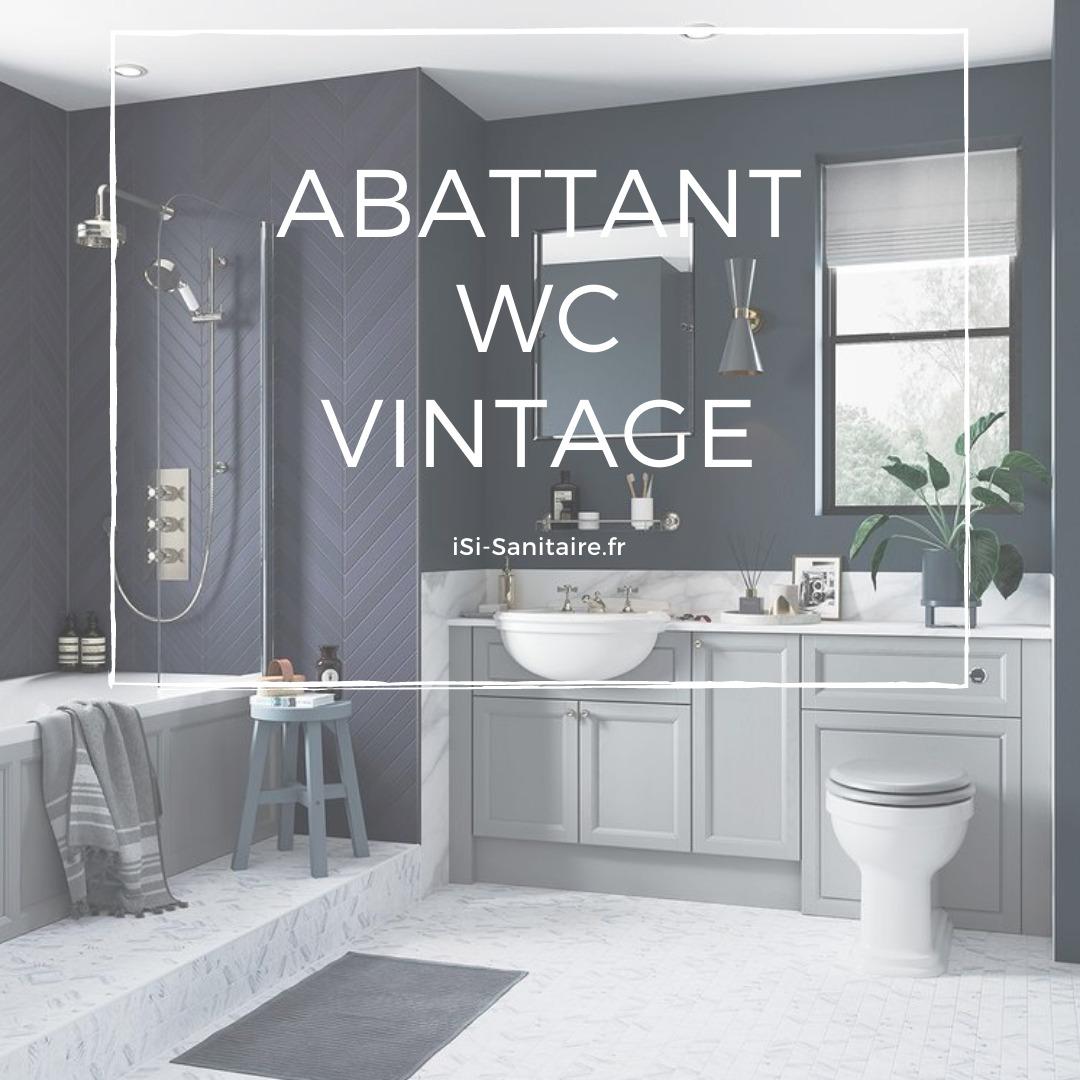abattant wc vintage