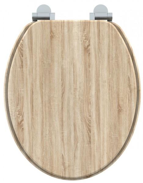 abattant wc imitation bois