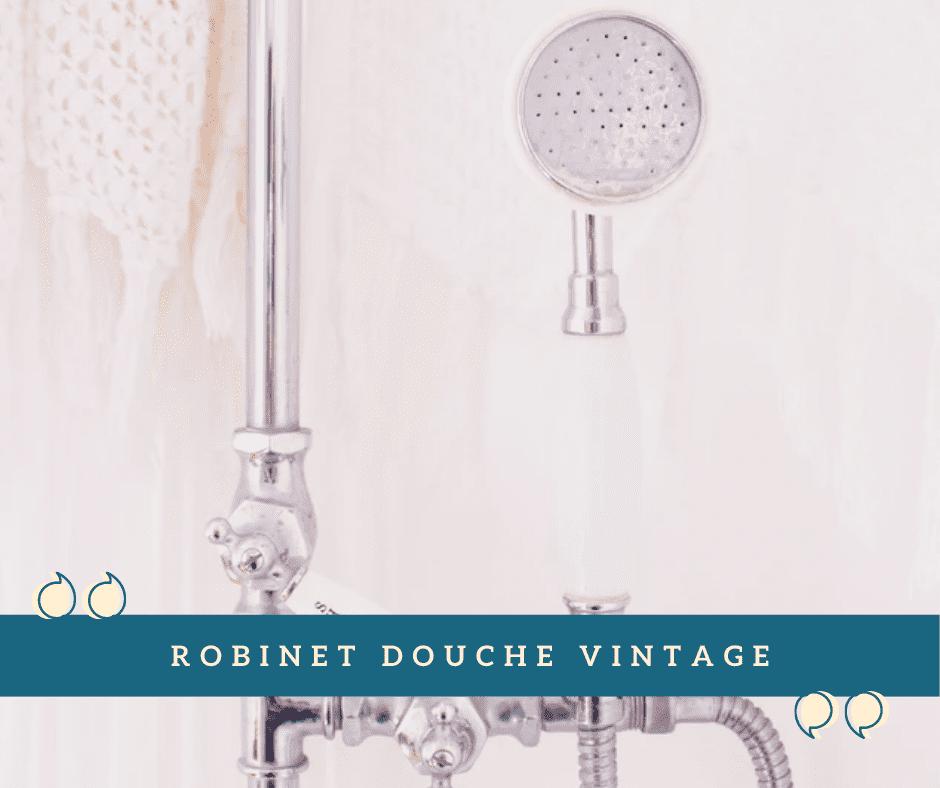 Robinet Douche Vintage