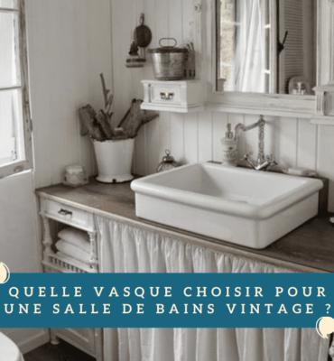 vasque à poser vintage