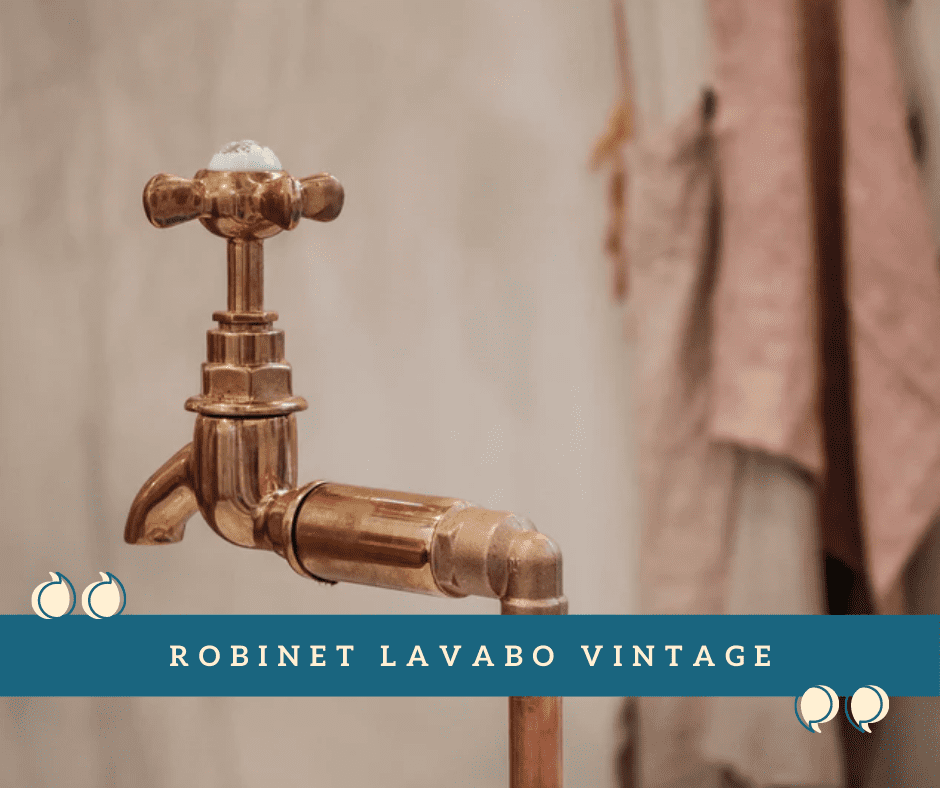 Robinet Lavabo Vintage