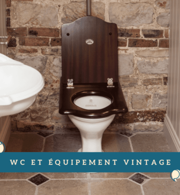 Toilettes Vintage