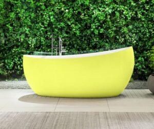 Baignoire Ilot Verte