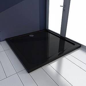 receveur de douche carré noir