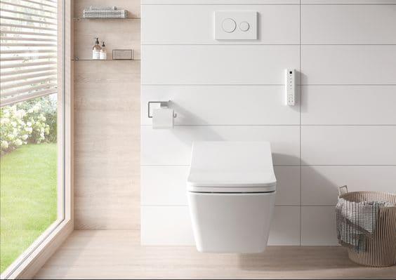 WC Japonais Toto avec télécommande