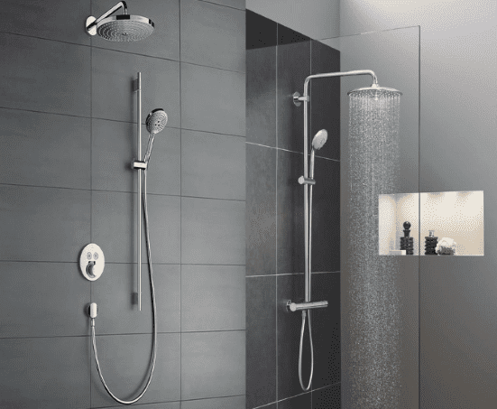 Douche Hansgrohe et Grohe