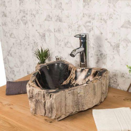 vasque en pierre à poser