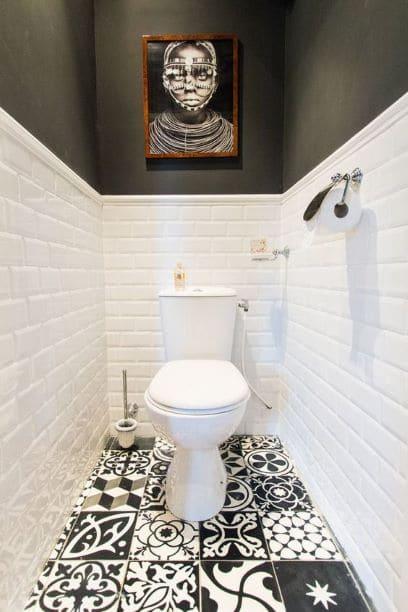 petite espace de toilette