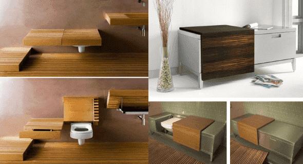 Salle de bain structure salle de bain en bois