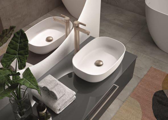 Meuble Gloss avec vasque à poser CEDAM