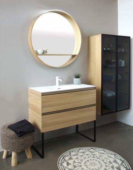 Miroir série Oakwood CEDAM
