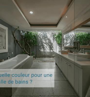 Choisir couleur salle de bains