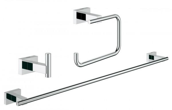 Ensemble Accessoires WC Grohe Essentials Cube 3 en 1 40777001