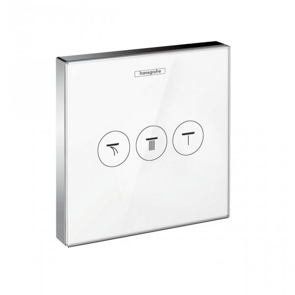 Robinet Encastrable Hansgrohe ShowerSelect Set de finition avec 3 fonctions 15736400