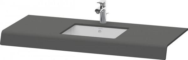 Plan de toilette Duravit DuraStyle 550mm Graphite Mat DS828C04949