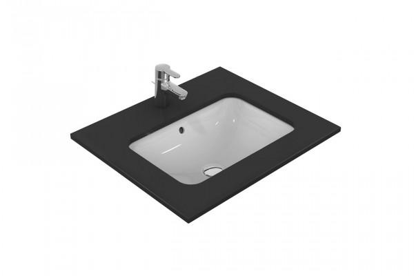 Vasque à Encastrer Ideal Standard Connect rectangulaire 580mm Céramique E506101