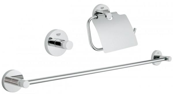 Ensemble Accessoires WC Grohe Essentials 3 en 1 40775001